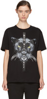 Marcelo Burlon County of Milan Black new Renaissance Mank T-shirt