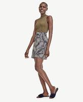 Ann Taylor Palm Skirt
