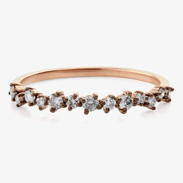 Suzanne Kalan Starburst Diamond Ring