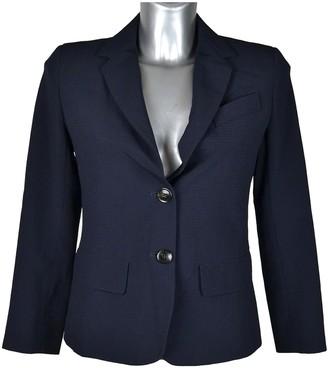 Max Mara Weekend Blue Wool Jackets