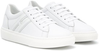 Hogan Logo Patch Low Top Sneakers