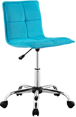 Linon Bristol Blue Office Chair