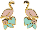 Marc Jacobs Pink Flamingo Earrings
