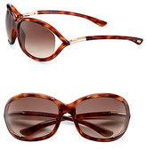 Tom Ford Jennifer 61MM Oval Sunglasses/Havana