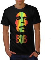 420 Pot Rasta Bob Marley Music King Men XXXL T-shirt   Wellcoda