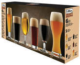 Libbey Set of Six Assorted Beer Glasses