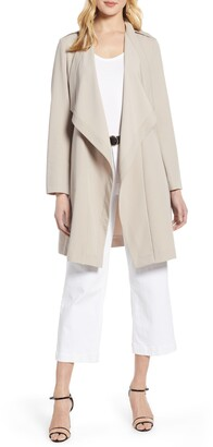 Halogen Drape Front Lightweight Jacket