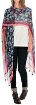 La Fiorentina Kimono Shawl - Viscose (For Women)