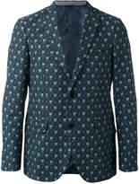 Etro printed two button blazer