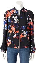 Apt. 9 Women's Abstract Bomber Jacket