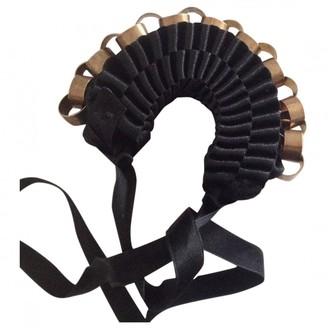 Marni Black Cloth Bracelets