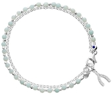Astley Clarke Amazonite Wishbone Biography Diamond Bracelet