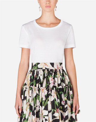Dolce & Gabbana Short-Sleeved Jersey T-Shirt