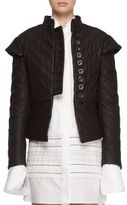 Burberry Leather Quilted Jacket