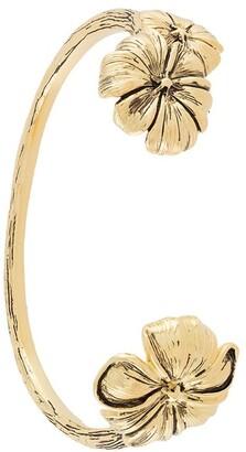 Aurélie Bidermann Pansy cuff bracelet
