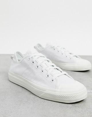 adidas Nizza RF sneakers in white