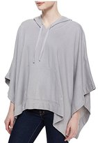 Soft Joie Women's Olga Hooded Knit Poncho Sweater (Large