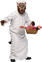 Fun World Costumes BIG BAD GRANNY WOLF ADULT OS