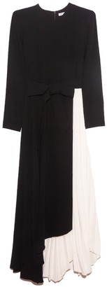 Camilla And Marc Frey Dress in Black with Buttermilk