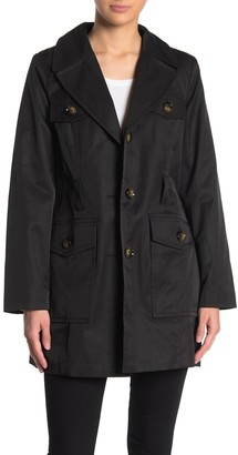 London Fog Safari Belted Coat