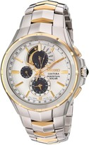 Seiko Men's Coutura Japanese-Quartz Watch with Stainless-Steel Strap Two Tone 25 (Model: SSC560)