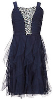 Xtraordinary Big Girls 7-16 Embellished Tulle Dress