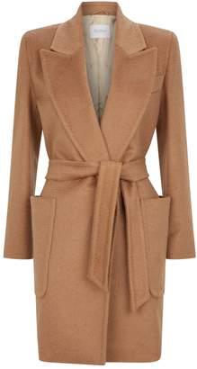 Max Mara Camel Belted Coat