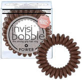 Invisibobble invisibobble Power Strong Hold Hair Ties - Pretzel Brown (Pack of 3)