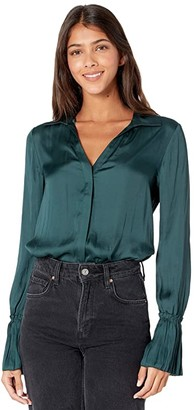 Paige Abriana Shirt (Dark Spruce) Women's Clothing
