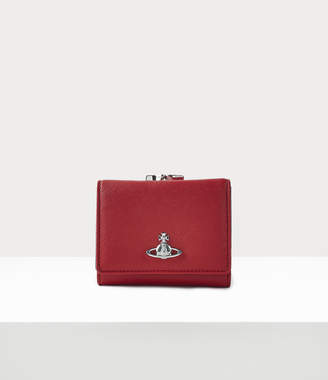Vivienne Westwood Small Frame Wallet Red