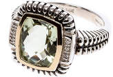 Shey Couture Green Quartz Ring