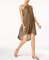 MICHAEL Michael Kors Bergalia High-Low Halter Dress
