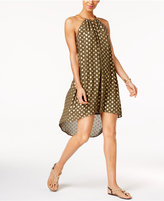 MICHAEL Michael Kors Embellished High-Low Dress