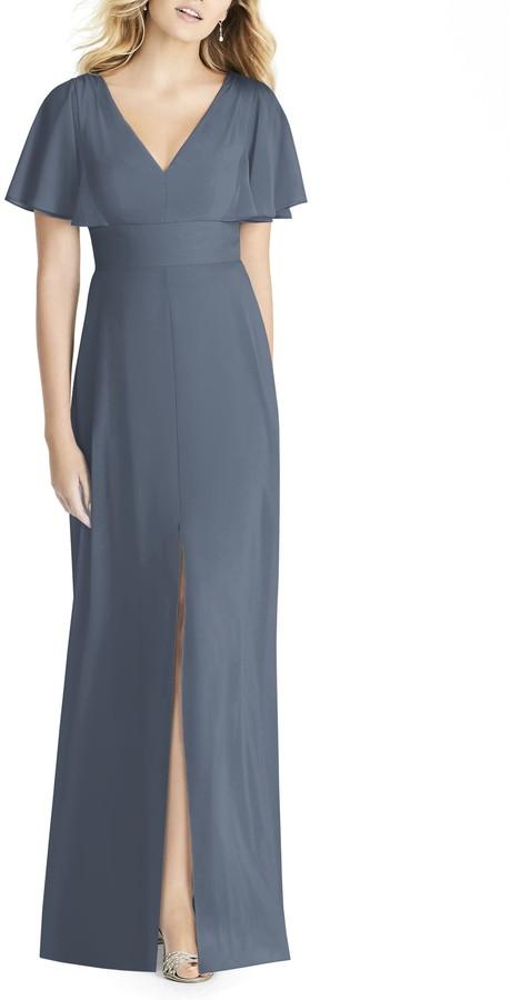 4a97a0799380 Gray Chiffon Dresses - ShopStyle
