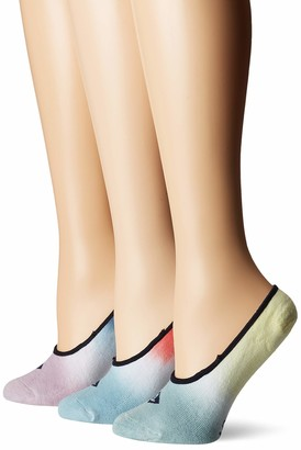 Sperry Women's Padded Sole Liner Socks 3 Pair