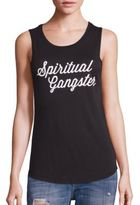 Spiritual Gangster Signature Script Supima Cotton Blend Tank
