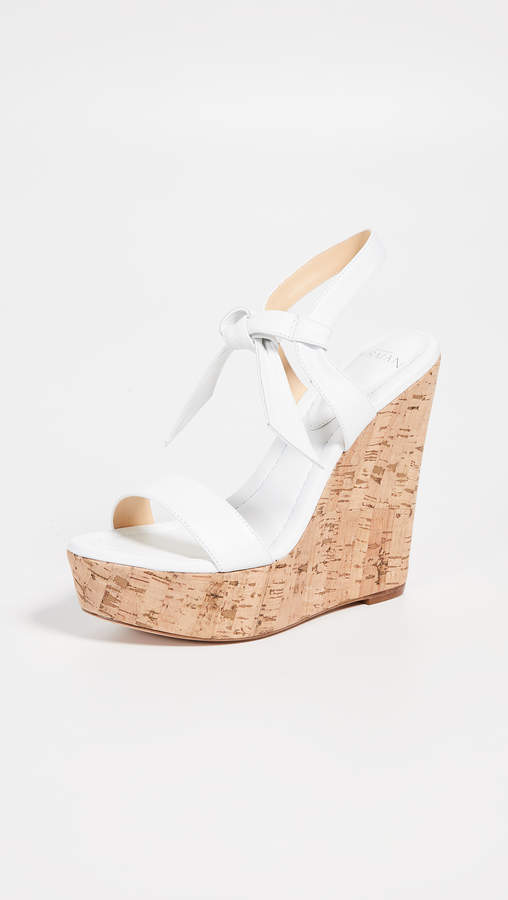 Alexandre Birman Noelle 120mm Wedge Sandals