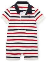 Ralph Lauren Basic Jersey Rugby Polo Shortall, Size 3-18 Months