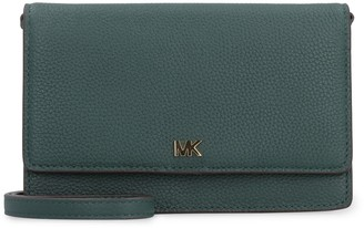 Michael Kors Leather Wallet On Chain