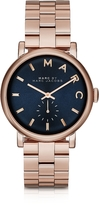 Marc by Marc Jacobs Baker Bracelet 36MM Navy Blue Dial Women's Watch