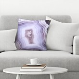 "Agate Throw Pillow East Urban Home Size: 14"" x 14"""