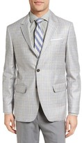 Moods of Norway Men's Monrad Trim Fit Plaid Wool Sport Coat