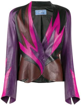 Thierry Mugler Pre-Owned 1980s flame pattern jacket