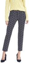 Banana Republic Sloan-Fit Skinny Ankle Floral Pant