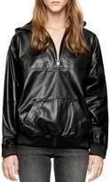 Zadig & Voltaire Deluxe Leather Hoodie