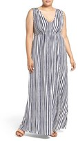 Tart Plus Size Women's Grecia Sleeveless Jersey Maxi Dress