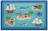 Olive Kids Olive KidsTM 3-Foot x 5-Foot Pirates Accent Rug in Blue