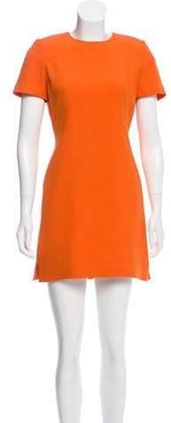 Alexander McQueen Structured Mini Dress