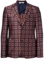 Bally printed blazer - men - Silk/Polyester/Cupro - 52