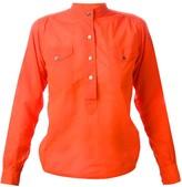 Saint Laurent Pre Owned mandarin neck shirt